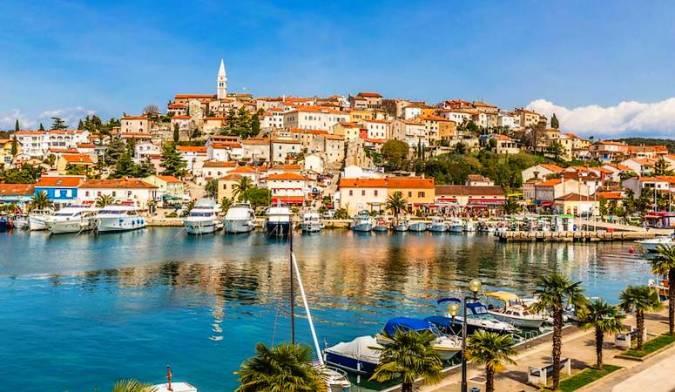 La ciudad de Vrsar, en Croacia