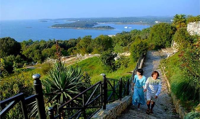 Vrsar, en Istria, Croacia