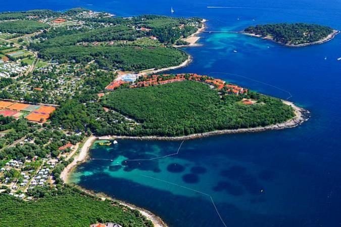 Vista panorámica de Vrsar, en Croacia