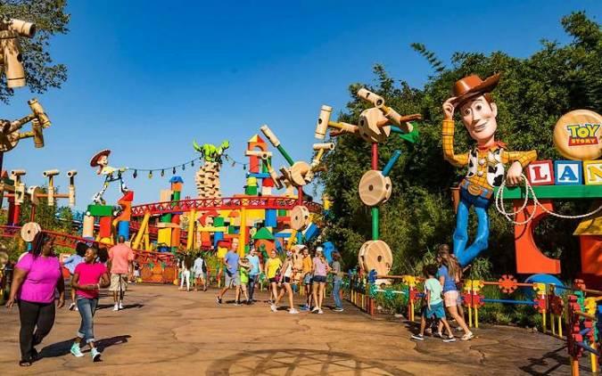 Parque Disney World, en Orlando, Florida