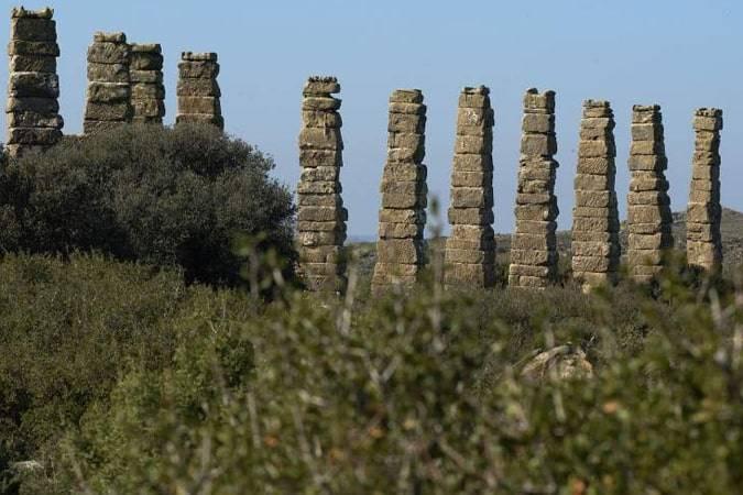 La ciudad romana de Los Bañales en Zaragoza