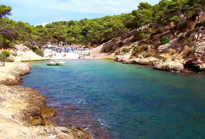 Cala Falcó, en Calvià, Mallorca