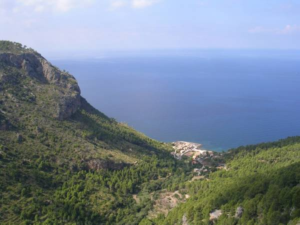 Serra de Tramuntana, en Mallorca